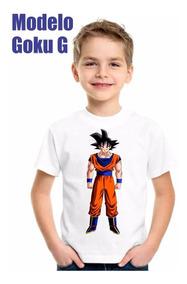 Playera Para Niñ@ Dragon Ball Naruto Y Más.