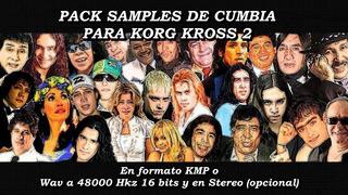 Pack Sonidos Cumbia Coleccion Para Korg Kross 2 (samples)