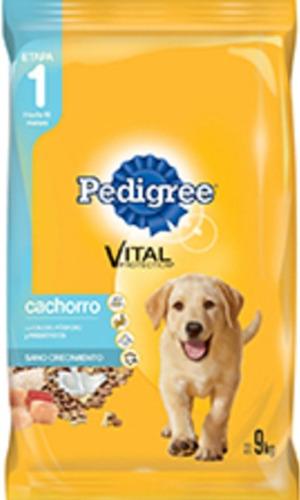 Pedigree Cachorro 9kg + 6 Pagos