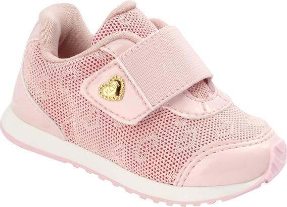 Tênis De Bebê Klin Mini Walk Com Fechamento Velcro Original