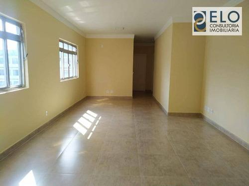 Imagem 1 de 30 de Apartamento Com 3 Dormitórios À Venda, 116 M² Por R$ 425.000,00 - Macuco - Santos/sp - Ap2418