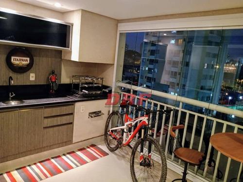 Imagem 1 de 30 de Centro 132 M? Com 3 Suites - Varanda Gourmet - Mobiliado - Ap0478