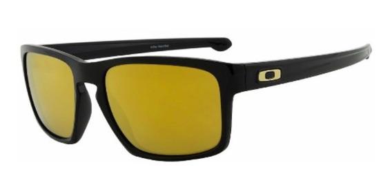 Óculos Oakley Sliver 24k Original Com Nota Fiscal