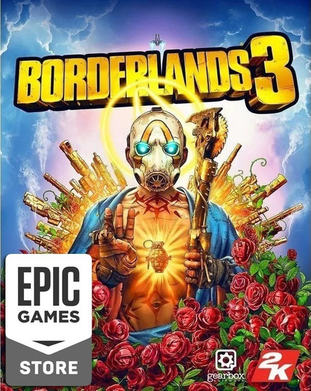 Borderlands 3 Pc Licença Chave Key Epic Games (genuíno)