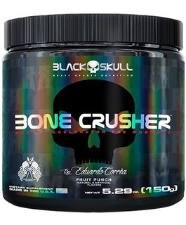 Pre Treino - Bone Crusher - 30 Doses - 150g - Black Skull
