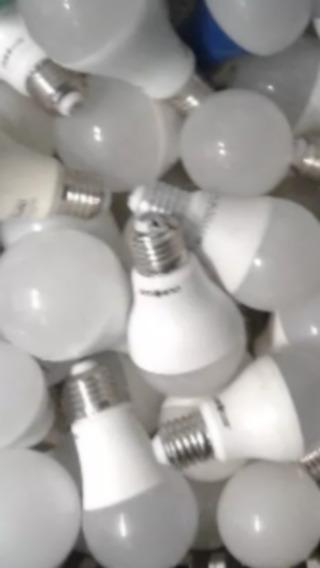 Lote 50 Lâmpadas Led Queimadas Recuperação/ Aproveitar Peças