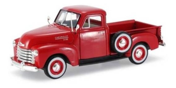 Miniatura Chevrolet 3100 Pick-up Antiga 1953 Escala 1:32