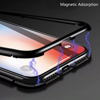 Funda Magnetica Metalica Xiaomi Redmi Note 5 6 Pro Baseglass
