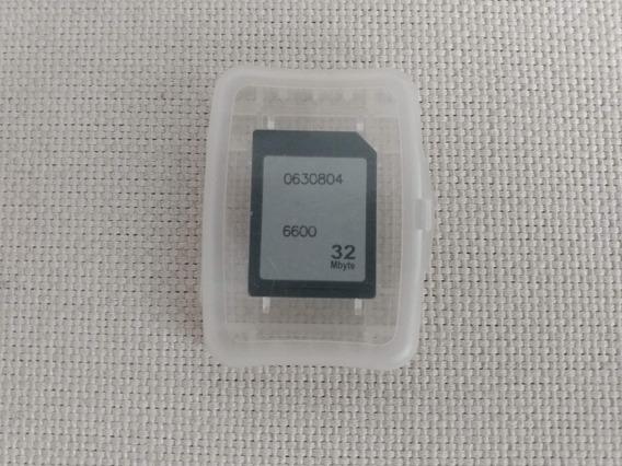 Cartão De Memória Antigo 32 Mb Antiguidade Celular Nokia