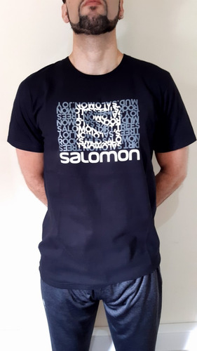 Remera Salomon Logo Ss Tee 3 Men 16903 Envíos A Todo El País