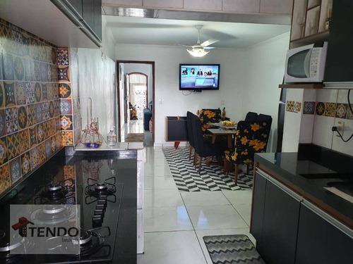 Imagem 1 de 21 de Imob01 - Sobrado 137 M² - Venda - 3 Dormitórios - Jardim Via Anchieta - São Bernardo Do Campo/sp - So0557