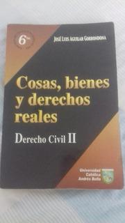 Libro Derecho Civil Ii. Cosas, Bienes Y Derechos Reales.