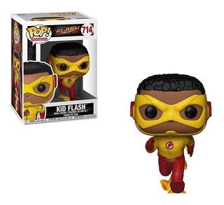 Funko Pop! Kid Flash 714 Muñeco Original Coleccionable