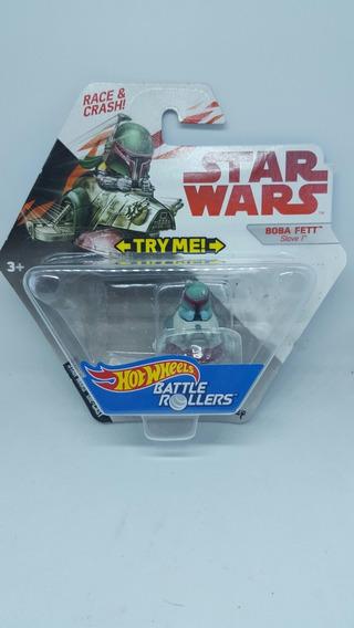 Boba Fett Slave 1 Star Wars Disney Race And Crash Hot Wheels