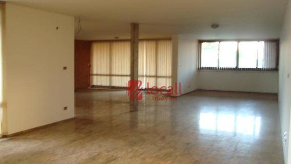 Casa Comercial Para Locação, Vila Redentora, São José Do Rio Preto. - Ca0039