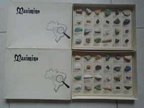 Pedras Preciosas E Semi Preciosas (lote Com 48 Exemplares)