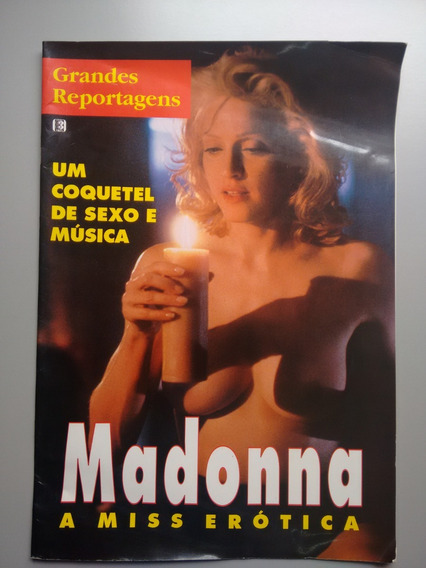 Revista Pôster Madona Um Coquete De Sexo E Musica A427