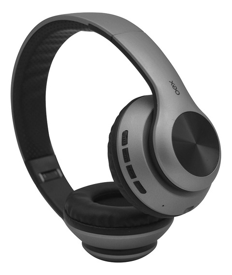 Fone Ouvido Headset Glam Bluetooth Microfone Hs311 Cinza Oex