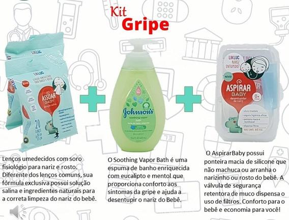 Kit De Aspirador Nasal, Assoar Baby E Johnson Bath Frete 0%