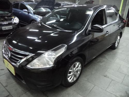 Nissan Versa Sv 1.6 16v Flex Autom Completo 2016 Preto