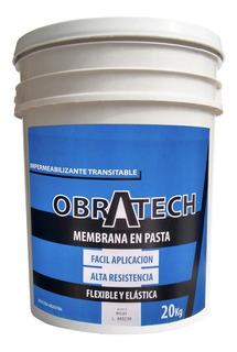 Membrana En Pasta 20 Lts Impermeable 100% Transitable