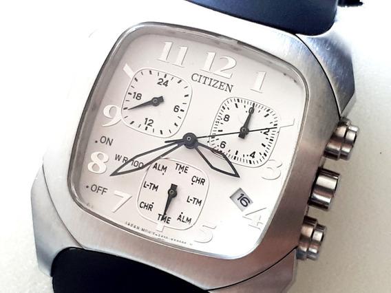 Relógio Citizen Cronógrafo An6010 - Borracha - Novo Promoção