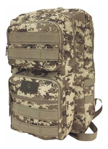 Mochila Tactica Militar Trekking Seguridad Camuflada 22 L