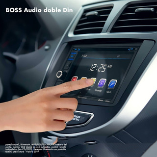 Reproductor Boss Audio Doble Din Bluetooth+tactil (110v)