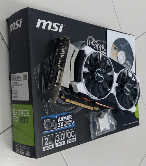 Placa Video Msi Geforce Gtx 960 Armor 2gb En Caja