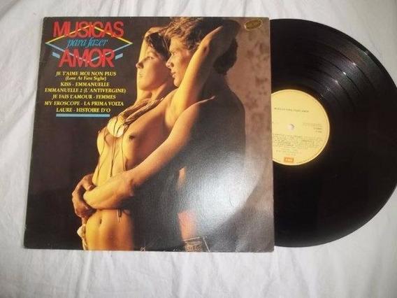 Lp Vinil - Musicas Para Fazer Amor - Coletanea Rock Pop Int