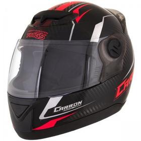 Capacete Pro Tork 788 G5  Carbon Evo Preto/vermelho 60