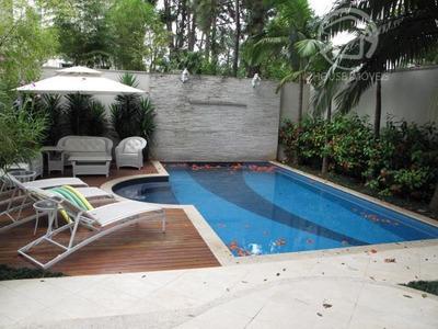 Casa Com 4 Dormitórios À Venda, 1405 M² Por R$ 7.300.000 - Alto Da Boa Vista - São Paulo/sp - Ca0550