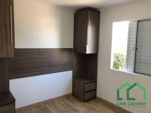 Imagem 1 de 15 de Apartamento À Venda, 61 M² Por R$ 300.000,00 - Residencial Parque Da Fazenda - Campinas/sp - Ap1913