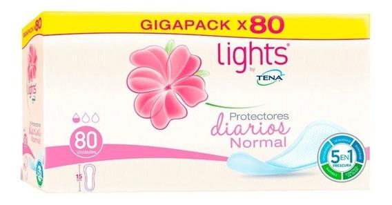 Protectores Tena Normal Lights - Unidad a $150