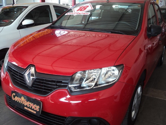 Renault Logan Authentique 1.0 12v 2018 36000km $34890,00