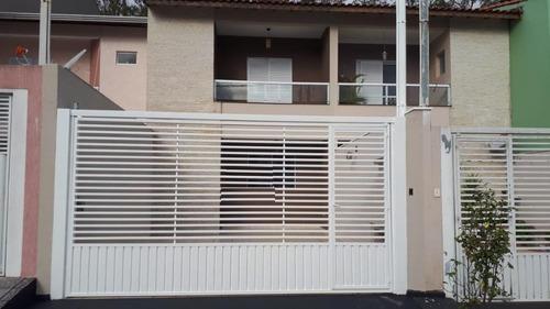 Sobrado Com 3 Dormitórios À Venda, 130 M² Por R$ 650.000,00 - Parque São Vicente - Mauá/sp - So20226