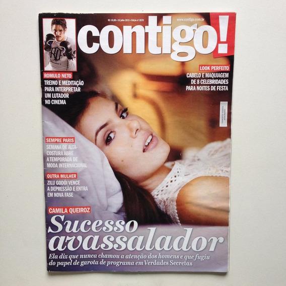 Revista Contigo 2079/15 - Camila Queiroz/xuxa/maria Flor
