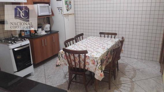 Casa Com 1 Dormitório À Venda, 80 M² Por R$ 260.000 - Vila Francisco Matarazzo - Santo André/sp - Ca0474