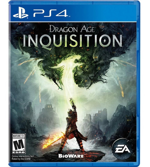 Jogo Dragon Age Inquisition Ps4 Disco Fisico Cd Original Novo Lacrado Nacional Oferta
