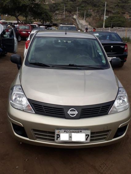 Nissan Tiida Sedan, 5 Puertas, 1.600cc, Ideal Para Trabajo