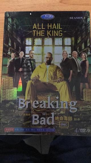 Blu-ray Breaking Bad - Temporada 5. Único Do Ml. Lindo!