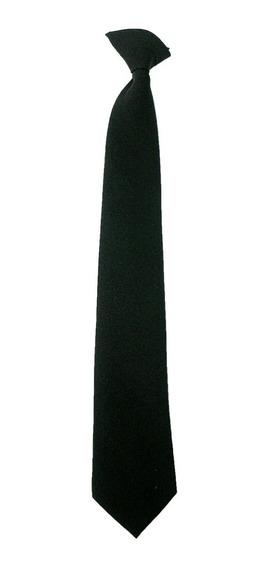 Set 2 Corbata Infantil Y Juvenil Escolar Y Satinada Con Broche