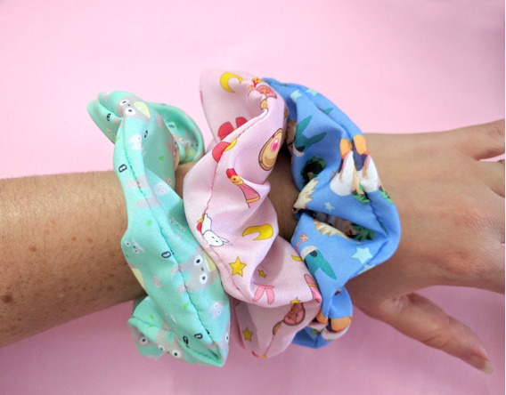 Scrunchies De Anime My Hero Academia Totoro Sailor Moon