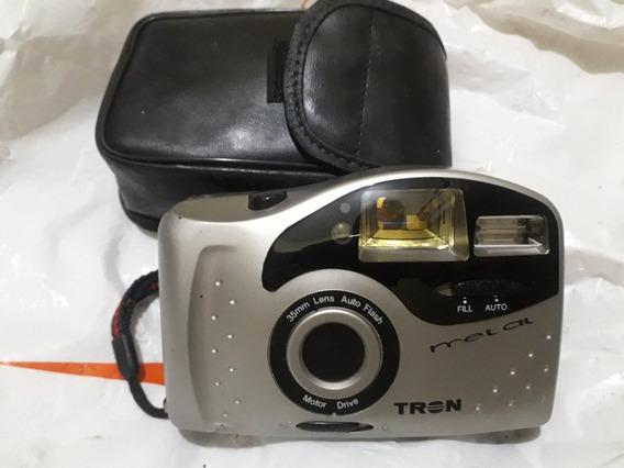 Câmera Fotográfica Antiga Tron Bv Metal