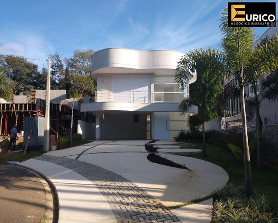 Casa Sobrado A Venda No Condominio Reserva Colonial Em Valinhos - Sp. - Ca01645 - 34129613