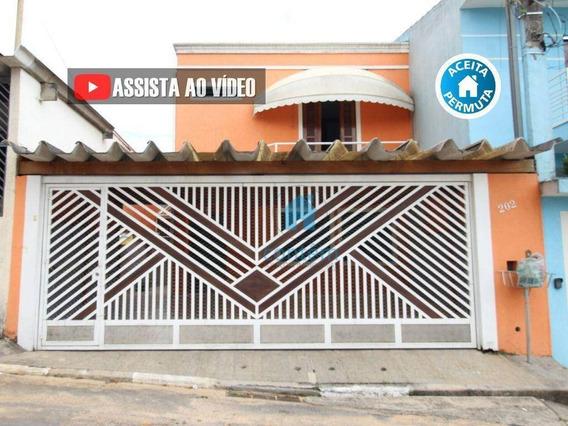 Casa Com 3 Dormitórios À Venda, 110 M² Por R$ 550.000,00 - Km 18 - Osasco/sp - Ca0321