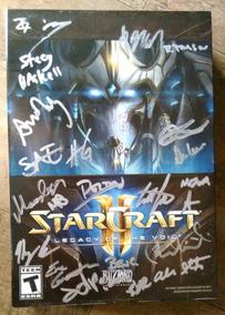 Blizzcon 2018 - Starcraft 2 Autógrafos Equipe Blizzard
