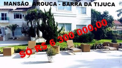 Casa Condomínio Arouca 992m Barra Da Tijuca - 110