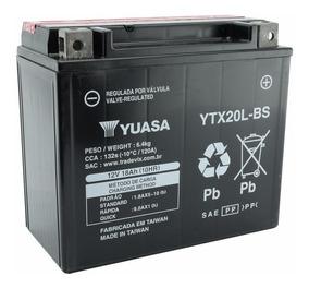 Bateria Yuasa Ytx 20l Bs Quadriciclo Brp Can Am 18ah 12v