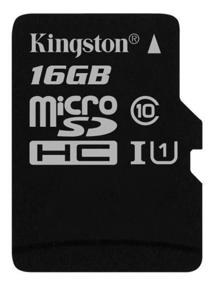 Cartão De Memória Kingston Canvas Select, Sdcs ,16gb